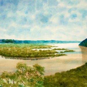 """Great River"" Giclee Art Print"