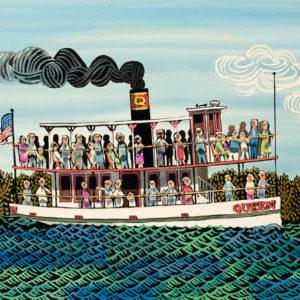 """Riverboat Queen"" Giclee art print"