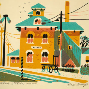 """Galena Station"" Giclee Art Print"