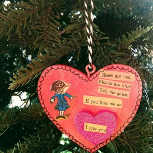 Heart Ornament by Local Artist