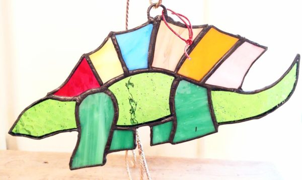 Stained Glass Dinosaur