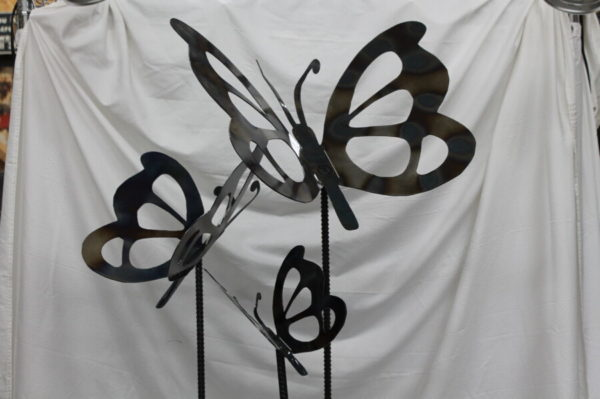 Butterfly Stakes Metal Creations