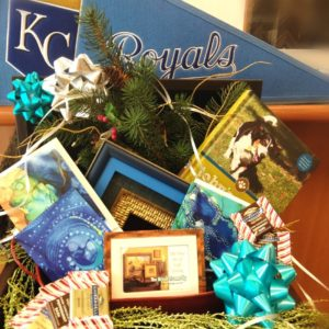 Kansas City Royals Baseball Basket
