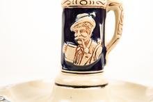 """Original Luchow's German Restaurant """"Beer Stein"""" Ashtray"""