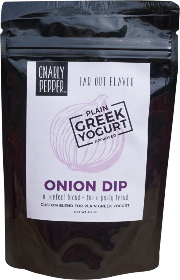 Gnarly Pepper Onion Dip