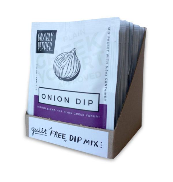 Onion Dip Tear Packets
