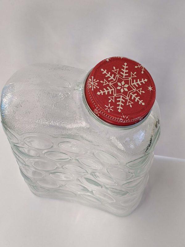 Vintage Anchor Hocking Glass Refrigerator Bottle