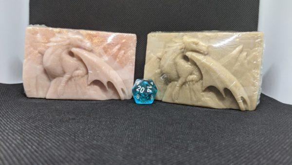 Dragon Peak Soap w/ d20 inside