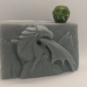 Dragon Peak Soap w/ d20 inside
