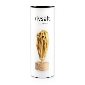RIVSALT Natural Flower Toothpick