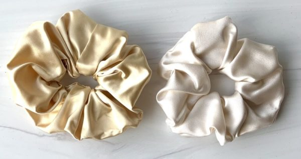 silk scrunchies marti and company