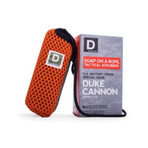 Duke Cannon Soap on a Rope Scrubber