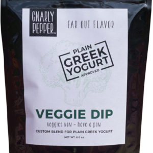 Gnarly Pepper Veggie Dip