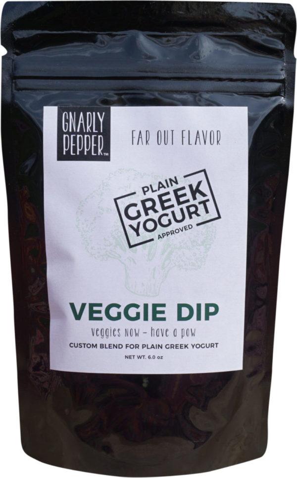 Gnarly Pepper Veggie Dip