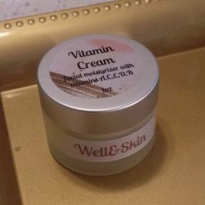 Vitamin Cream face moisturizer