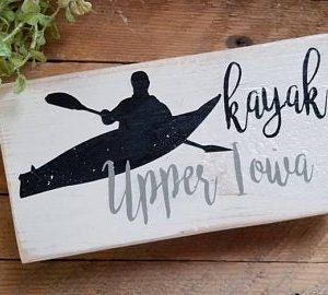 Small Kayak Sign