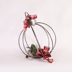Winter Ball Iron Ornament