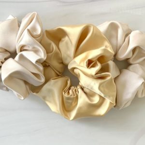 Silk Scrunchie Large