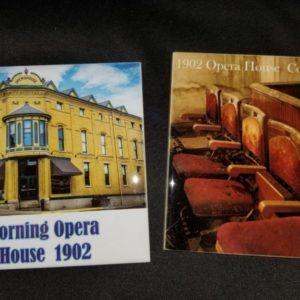 Corning Opera House Trivets – Set 1