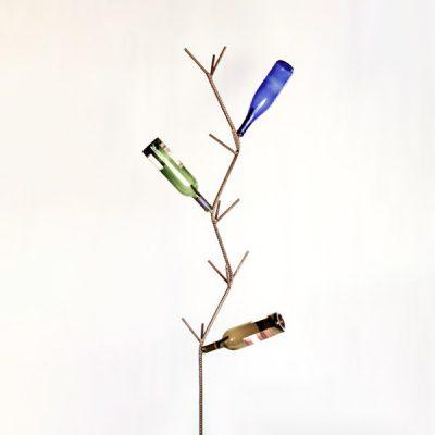 Wine Bottle Tree Metal Creation