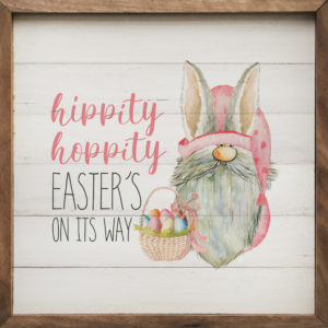 photo of Hippity Hoppity – Kendrick Home Wood Sign, The Markket, Shop Iowa