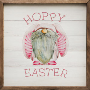 Hoppy Easter - Kendrick Home Wood Sign