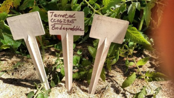 9″ BIODEGRADABLE BioMarkers Plant Label Garden Stakes