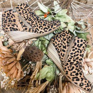 Brekki Leopard Bootie
