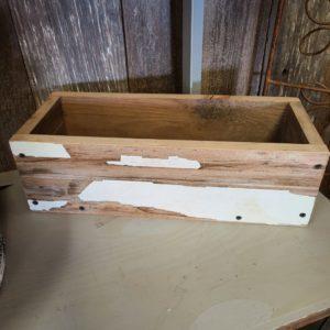 Barnwood Planter Box