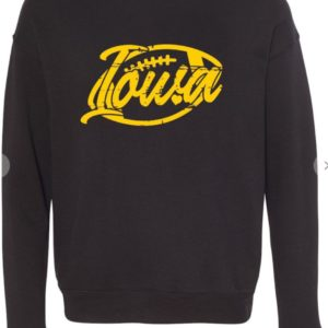 Iowa football crewneck