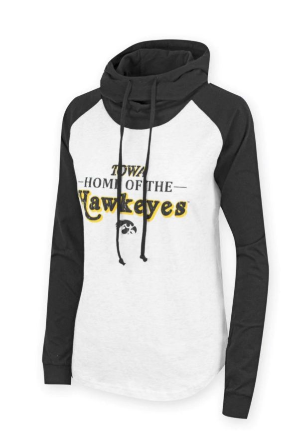 Lightweight Iowa Hooded sweatshirt