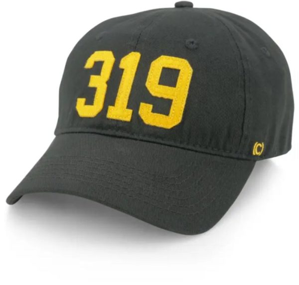319 gold stitch hat