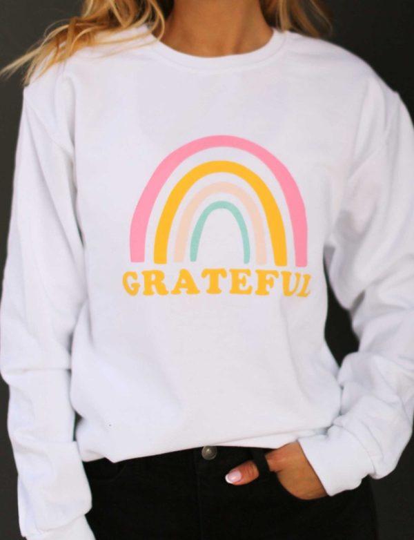 Grateful crewneck – Ivory