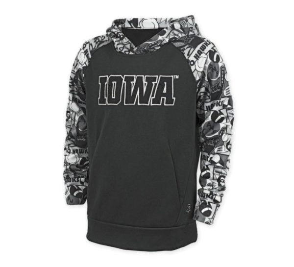 Youth Iowa hooded sweatshirt