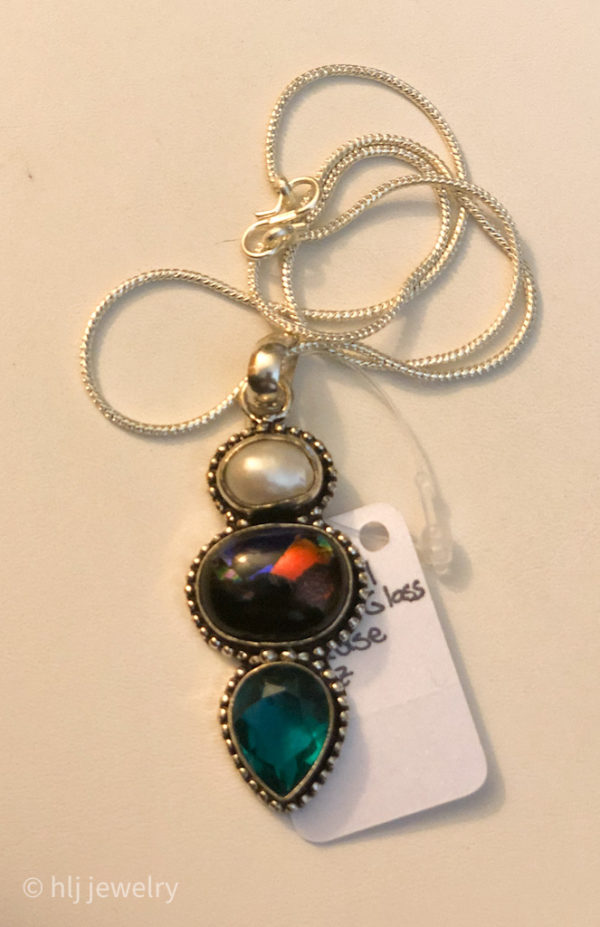 Gemstone Pendant Chain Necklaces – Various to Choose From