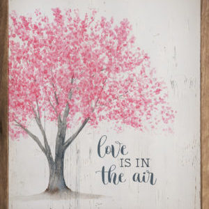 Love is in the Air Tree - Kendrick Home Wood Sign