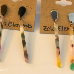 Zola Elements Dangle Earrings – 2 different colors