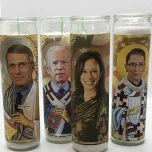 Biden, Harris, RBG, Fauci Candles