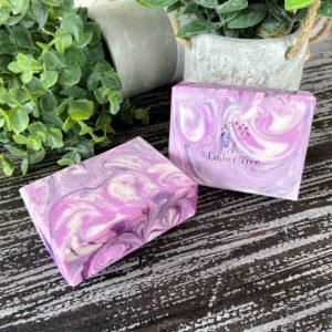 Black Raspberry SILK soap