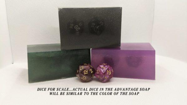 Advantage Block Soap w/ 2d20 inside