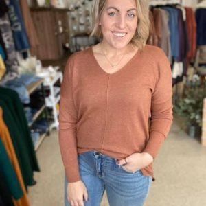 V-Neck Dreamer Sweater
