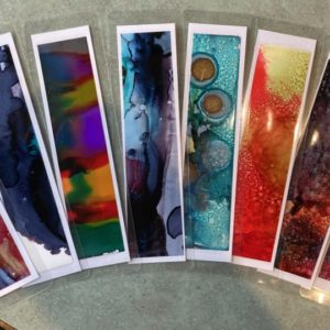 Bookmarks Original Artwork (set of 5)