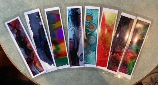 Bookmarks Original Artwork (set of 5)