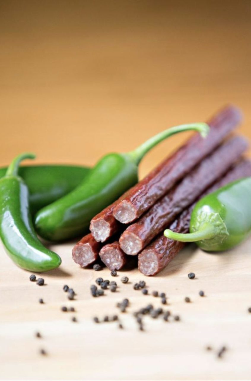Jalapeno Snack Stick – 90% lean beef & pork