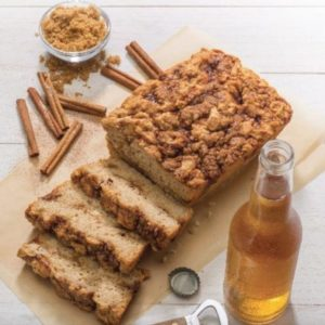 Gluten-Free Cinnamon Crumble Beer Bread Mix