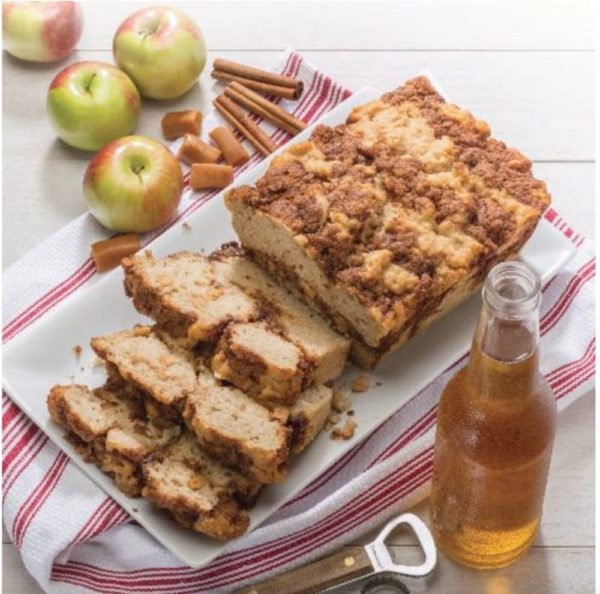 Gluten-Free Caramel Apple Beer Bread Mix