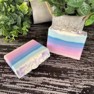 Tropical Sunset SILK soap
