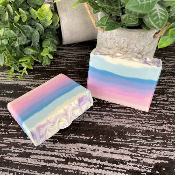 Tropical Sunset SILK soap