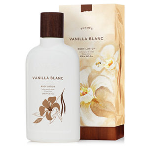 photo of Thymes Lotion, Vanilla Blanc Body Lotion, The Hen House, Shop Iowa