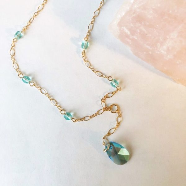 Lavaliere Birthstone Necklace